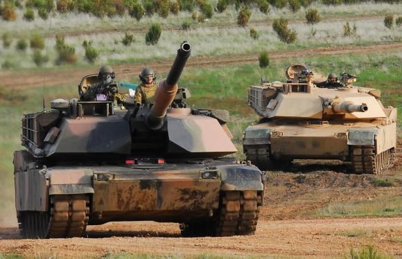 Abrams M1A1 na Chong Ju- foto MoD Australia