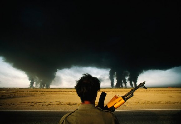 guerra ira-iraque - foto Henri Bureau