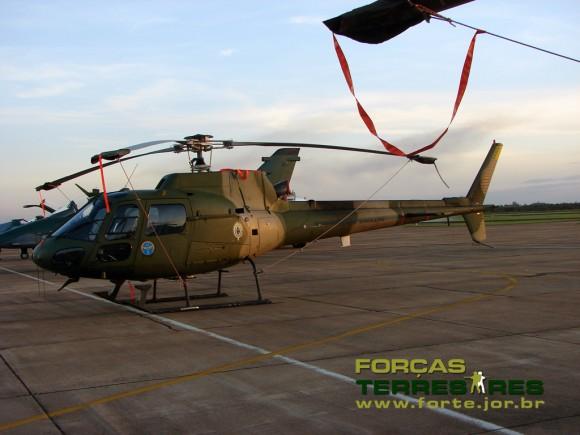 Comando da Aviação do Exército EB Fennec HA-1 1034 1 BAVEX por do sol - foto Forcas Terrrestres - Poggio