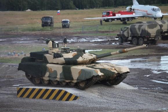 T-90MS_main_battle_tank_at_Engineering_Technologies_2012