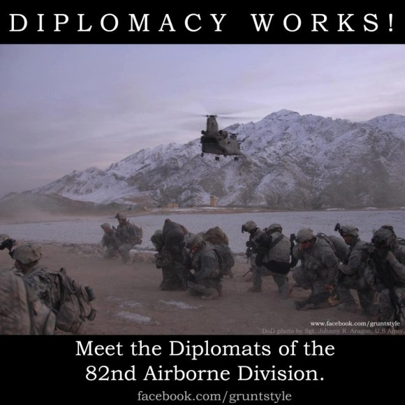 A Diplomacia Funciona