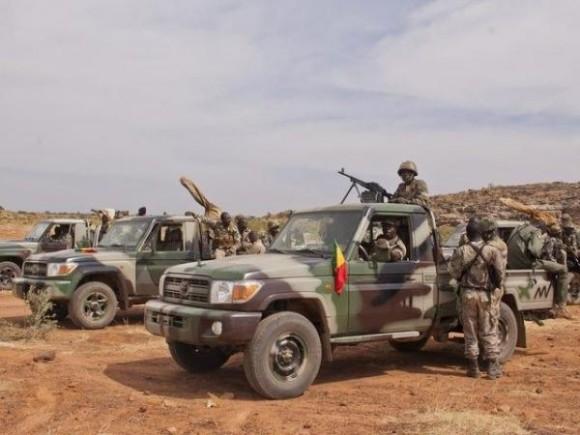 Exercito do Mali - foto via Malijet