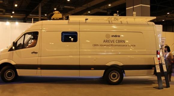 INDRA - CBRN Advanced Reconnaissance Vehicle - AVERE - foto INDRA