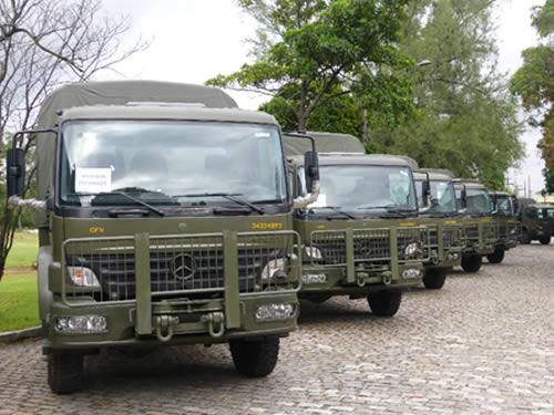 Novas viaturas não-especializadas de 5 toneladas 4x4