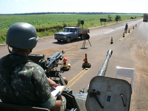 Exército Brasileiro fechou toda a faixa de fronteira de Mato Grosso do Sul
