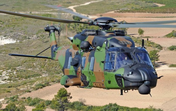 NH-90 TTH nas cores do Exército Francês - foto NH Industries - Eurocopter