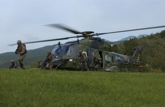 NH90 TTH - foto Exército Francês