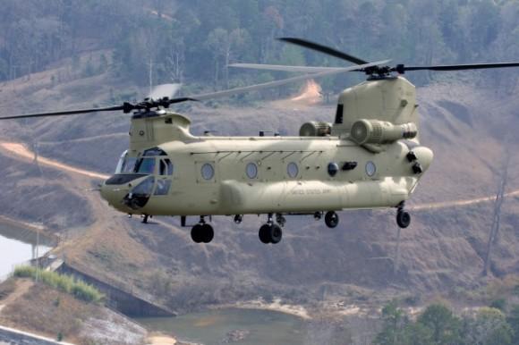 CH-47F Chinook - foto Boeing