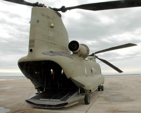 CH-47F Chinook - foto US Army