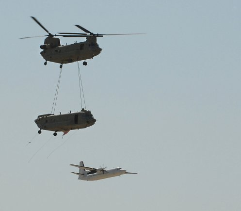 CH-47F iça outro Chinook - foto US Army