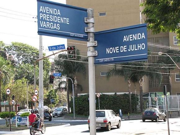 Av Nove de Julho e Pres Vargas em Ribeirão Preto - SP