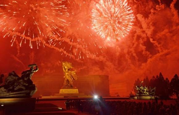 Festejos dos 60 anos da Guerra da Coreia