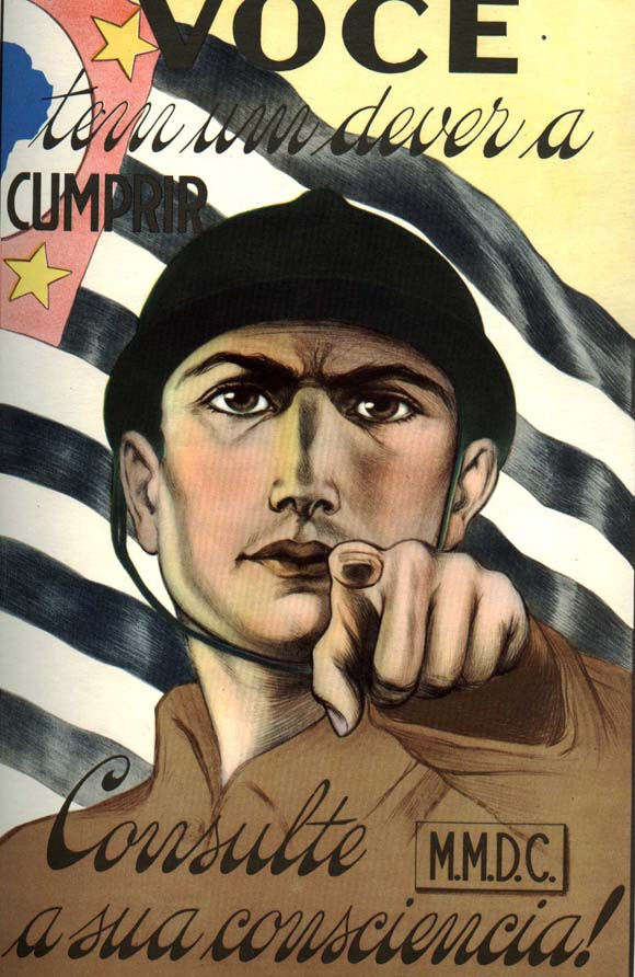 cartaz Revolução 1932