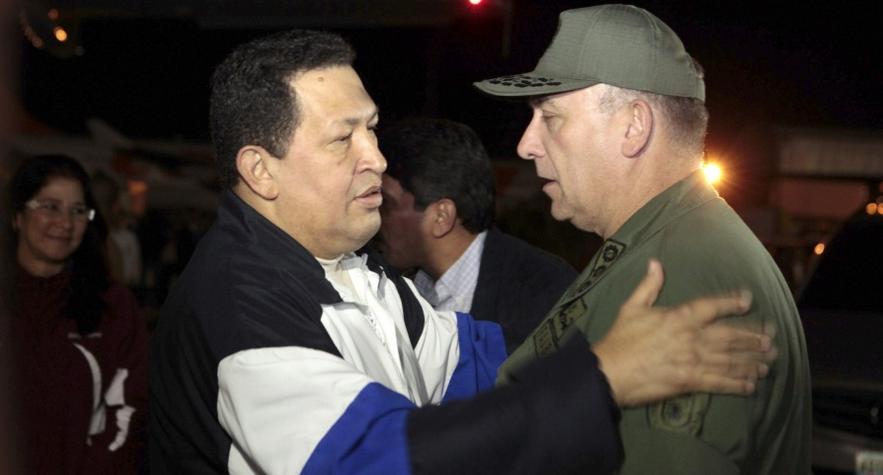 ex-ministro da defesa da venezuela e novo embaixador no Brasil