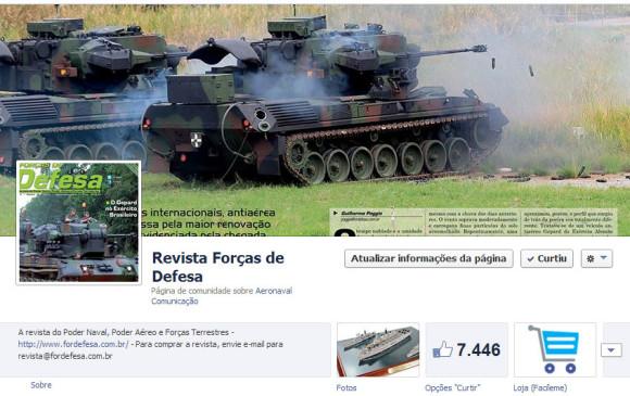 Forças de Defesa no Facebook