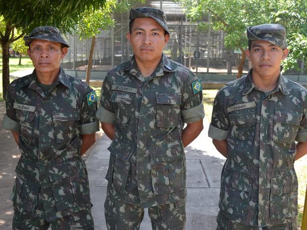 Soldados indígenas colaboram com missões do Exército em Roraima ... 10e3dbc6b61