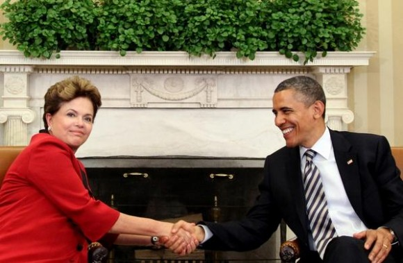 Dilma e Obama - foto 2012 Agência Brasil