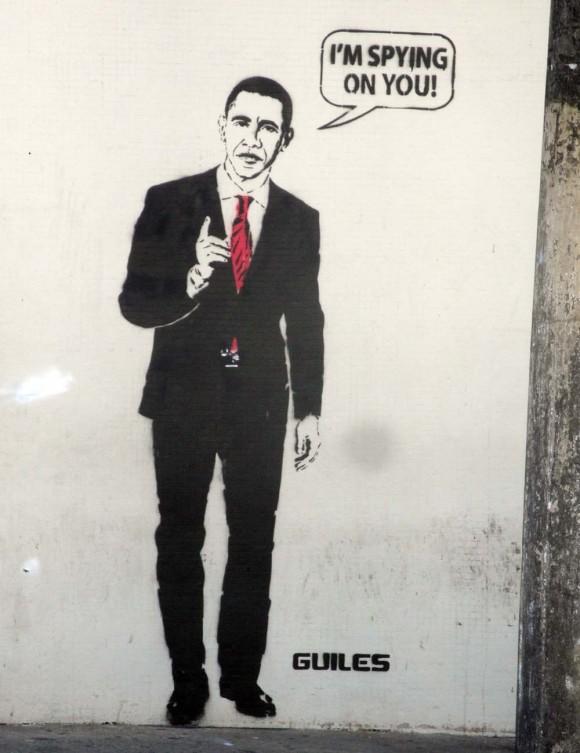 Obama em grafite em muro de São Paulo - foto Nunão
