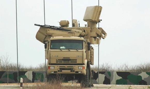 artilharia antiaérea KBP-Pantsir-S-SPAAG-SAM-3S