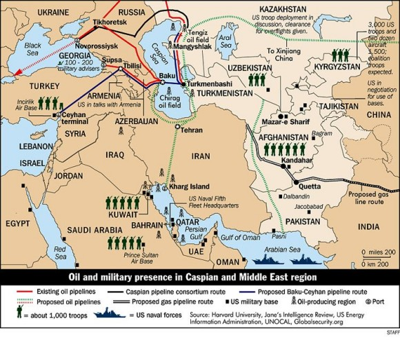 Middle-east-oil-map