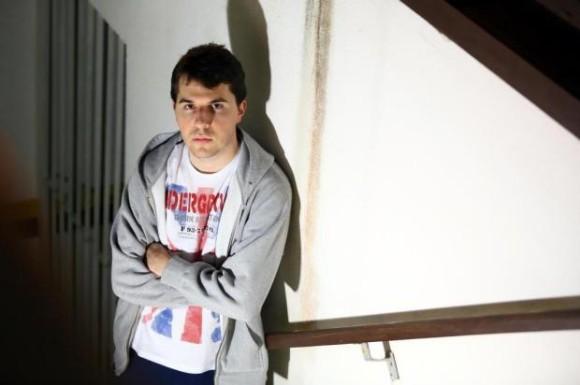 João Victor Gasparino estuda na Univali, em Itajaí