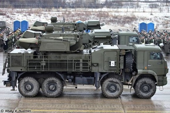 Pantsir-S1_Pantsyr-S1_air_defense_missile_system_anti-aircraft_gun_sa-22_greyhound_Russia_Russian_army_019
