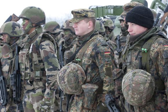La Brigade Franco-Allemande ˆ Baumholder