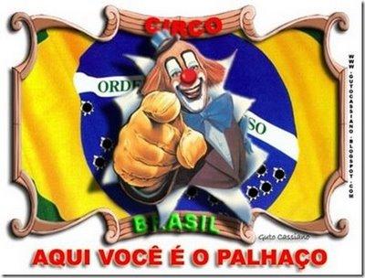 Brasileiro palhaço
