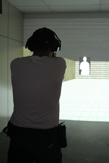 Simulador de tiro - policia do parana