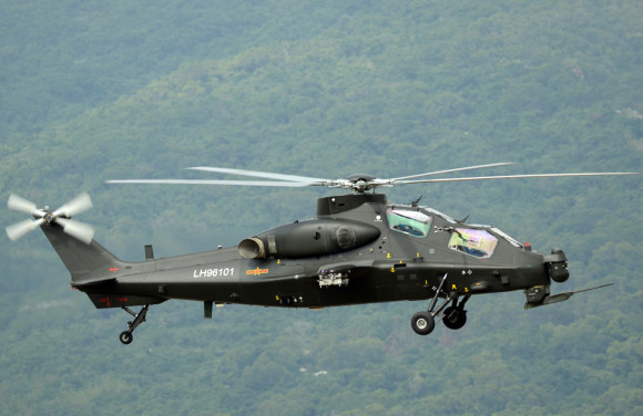 Chinese Z-10 Attack Helicopter gunship PLA Peoples Liberation Army Air Force export pakitan missile hj10 atgm rocket (4)