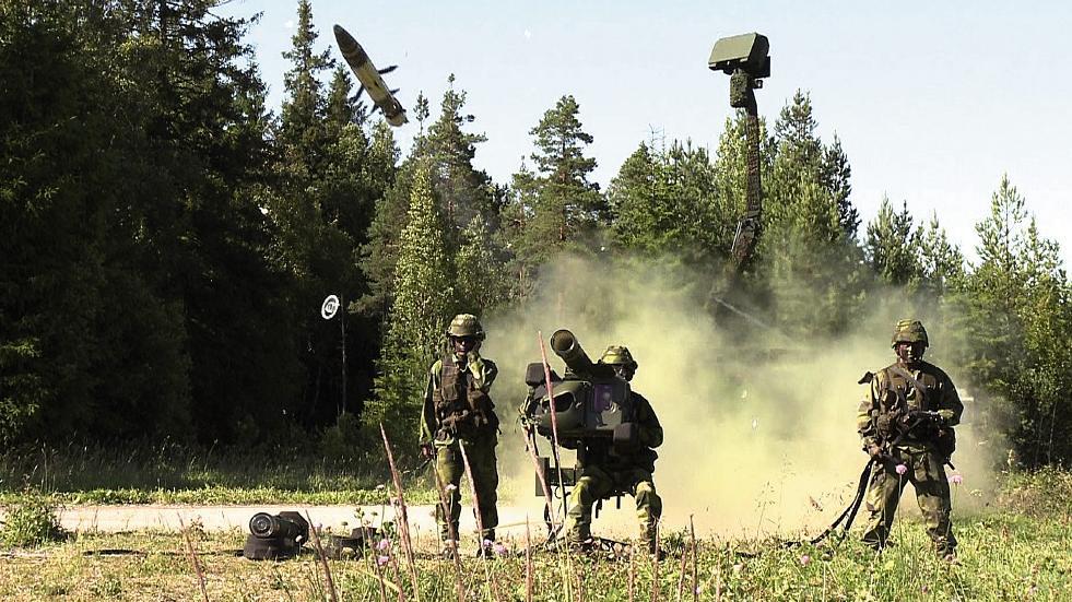 RBS 70 NG e radar Giraffe - foto Saab