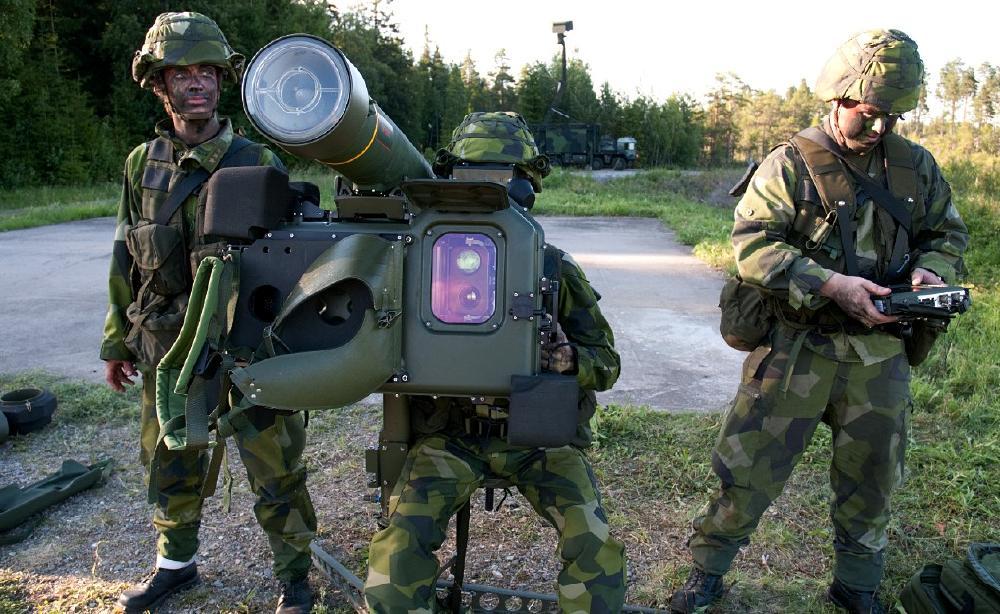 RBS 70 NG - foto Saab