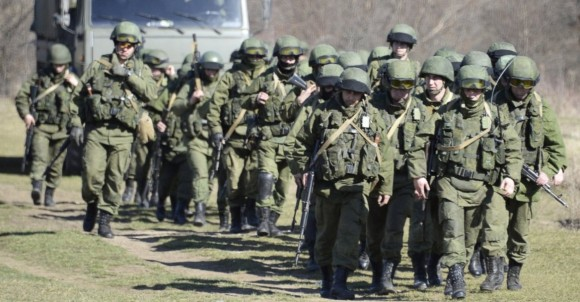 tropas russas na crimeia - foto AP
