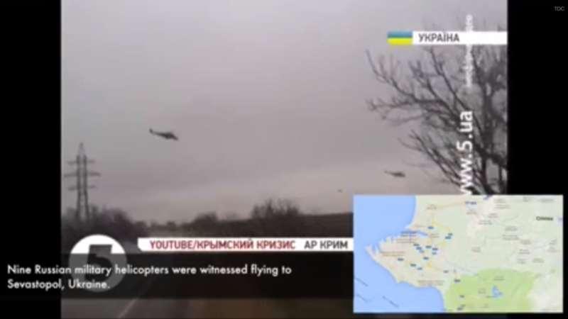 tropas russas na crimeia