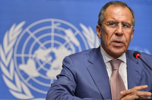 Russian Foreign Minister Sergei Lavrov s