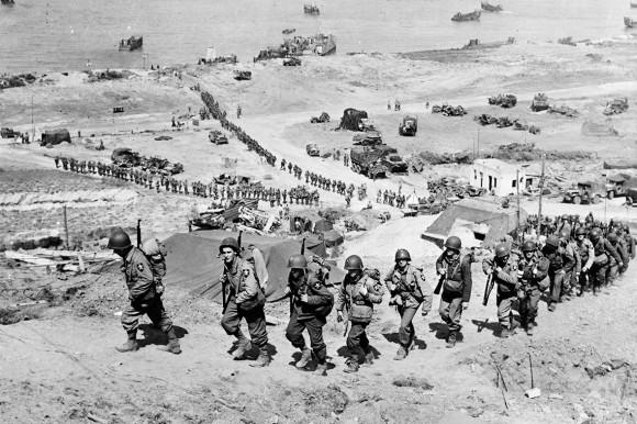 Dia D 70 anos - Bunker Hill 1944 - foto via ibtimes