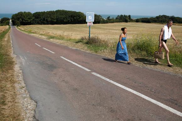 Dia D 70 anos - estrada - 2013 - foto via ibtimes
