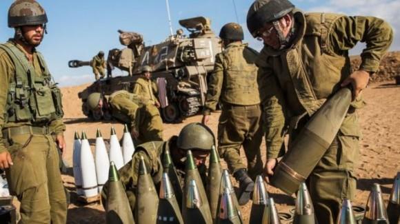 Israel-Gaza-Shells