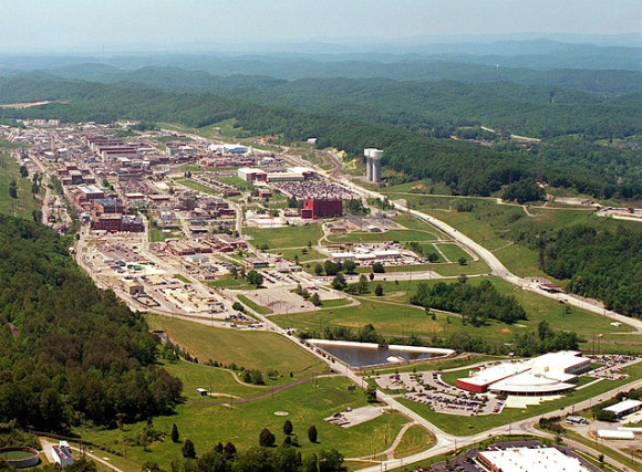 Complexo de Segurança Nacional Y-12 em Oak Ridge, no Tennessee