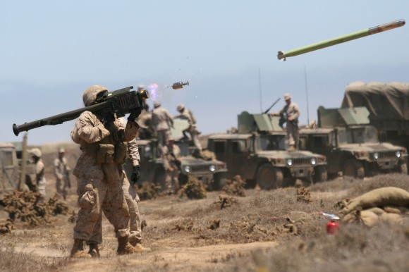 Launched_FIM-92A_Stinger_missile