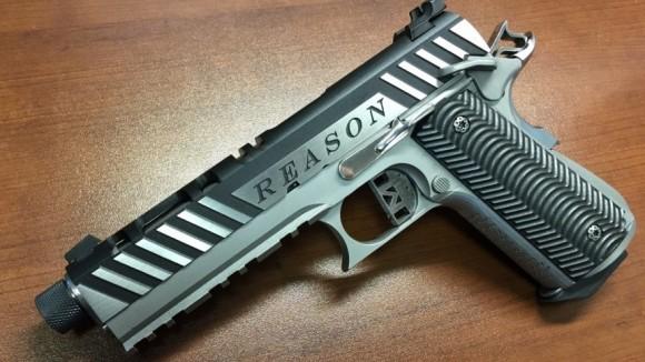 Reason 3D printer pistol