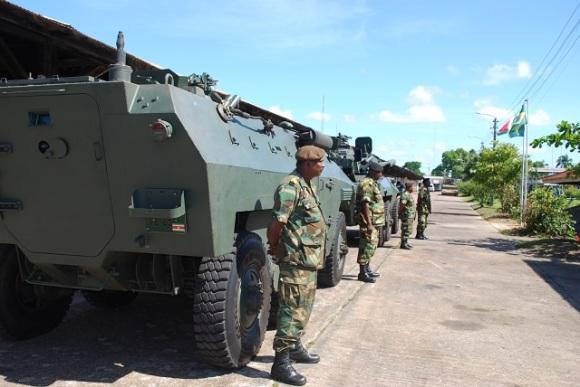 Assessoria Técnica ao Exército do Suriname - 1