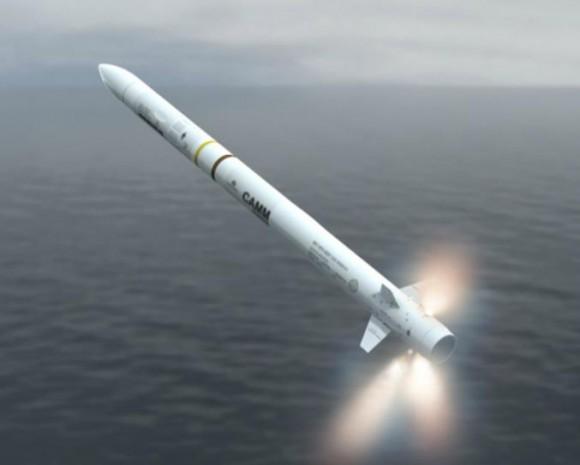 Sea Ceptor - CAMM - imagem 3 MBDA