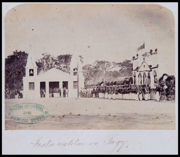 Guerra do Paraguai - fotografia 3 acervo digital Biblioteca Nacional