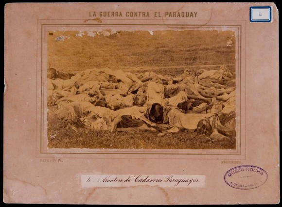 Guerra do Paraguai - fotografia acervo digital Biblioteca Nacional