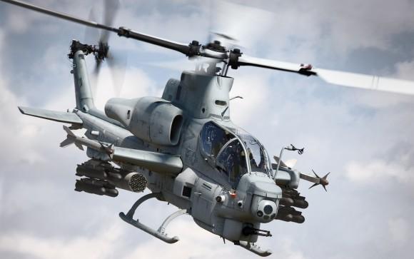 mísseis Hellfire AH-1Z Viper