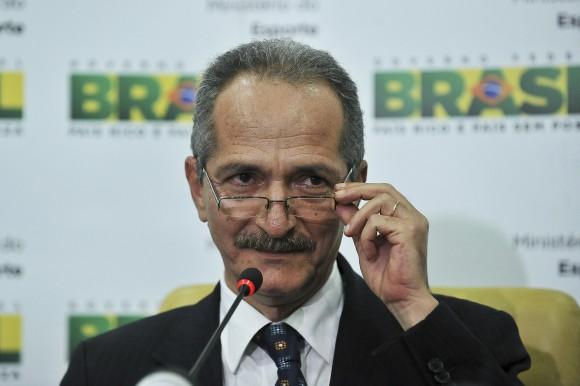 Brasilia - Entrevista coletiva do ministro dos esportes ,Aldo Rebelo