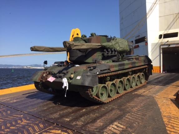 Exército Brasileiro Gepard - 5o lote