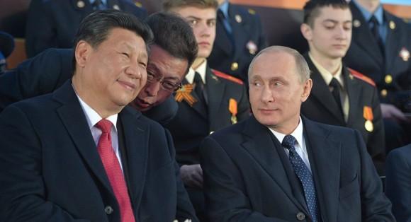 aliança russo-chinesa