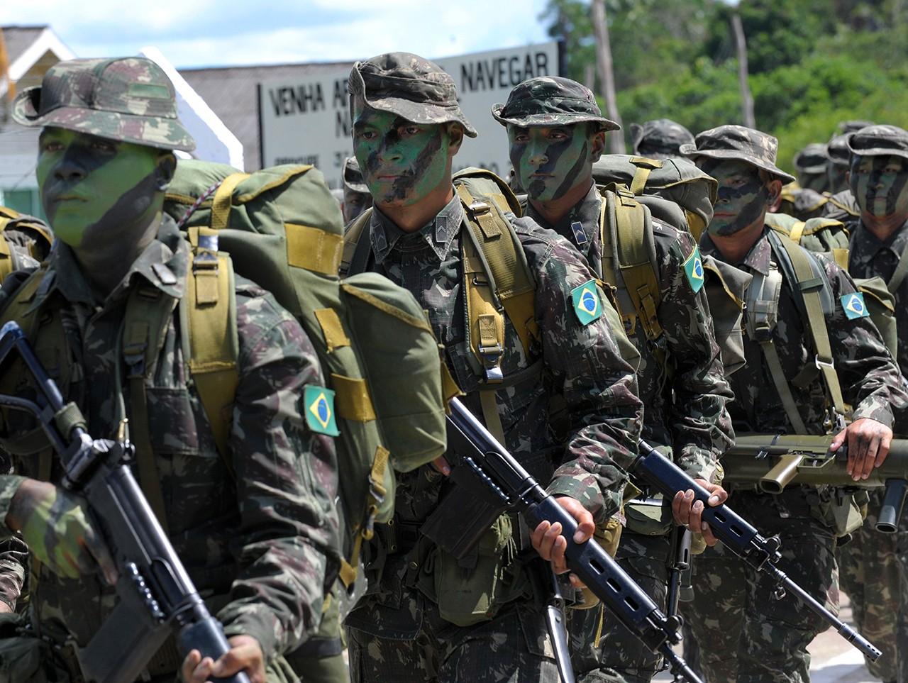 Pelotão de Fronteira do Exército Brasileiro